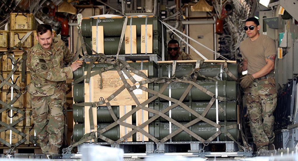 Suministro de EEUU del equipamento militar al Líbano