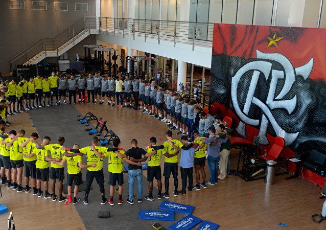 Centro de entrenamiento del club brasileño de fútbol Flamengo