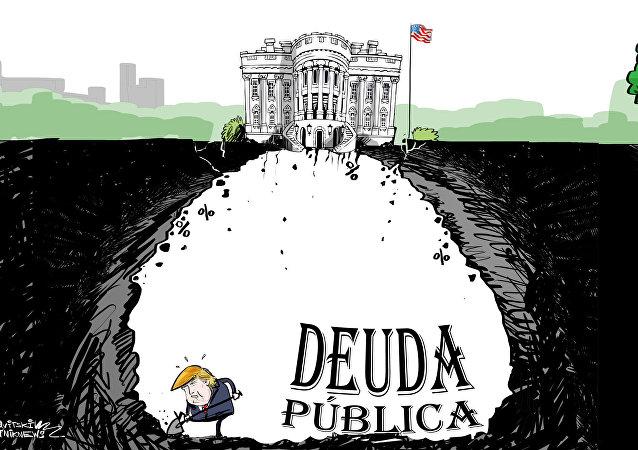 Así excava Trump su deuda pública bajo la Casa Blanca