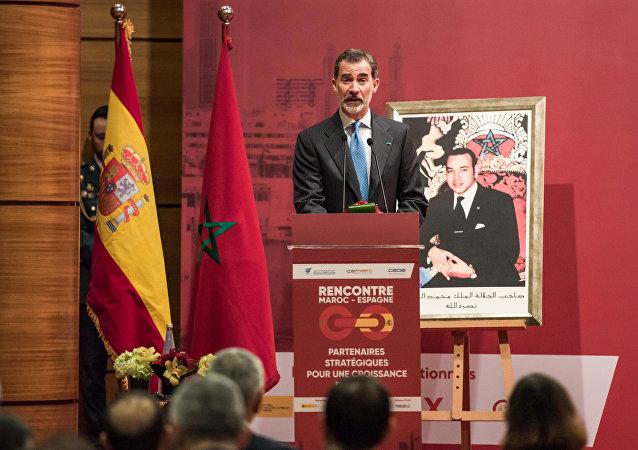 El rey de España, Felipe VI, en Marruecos