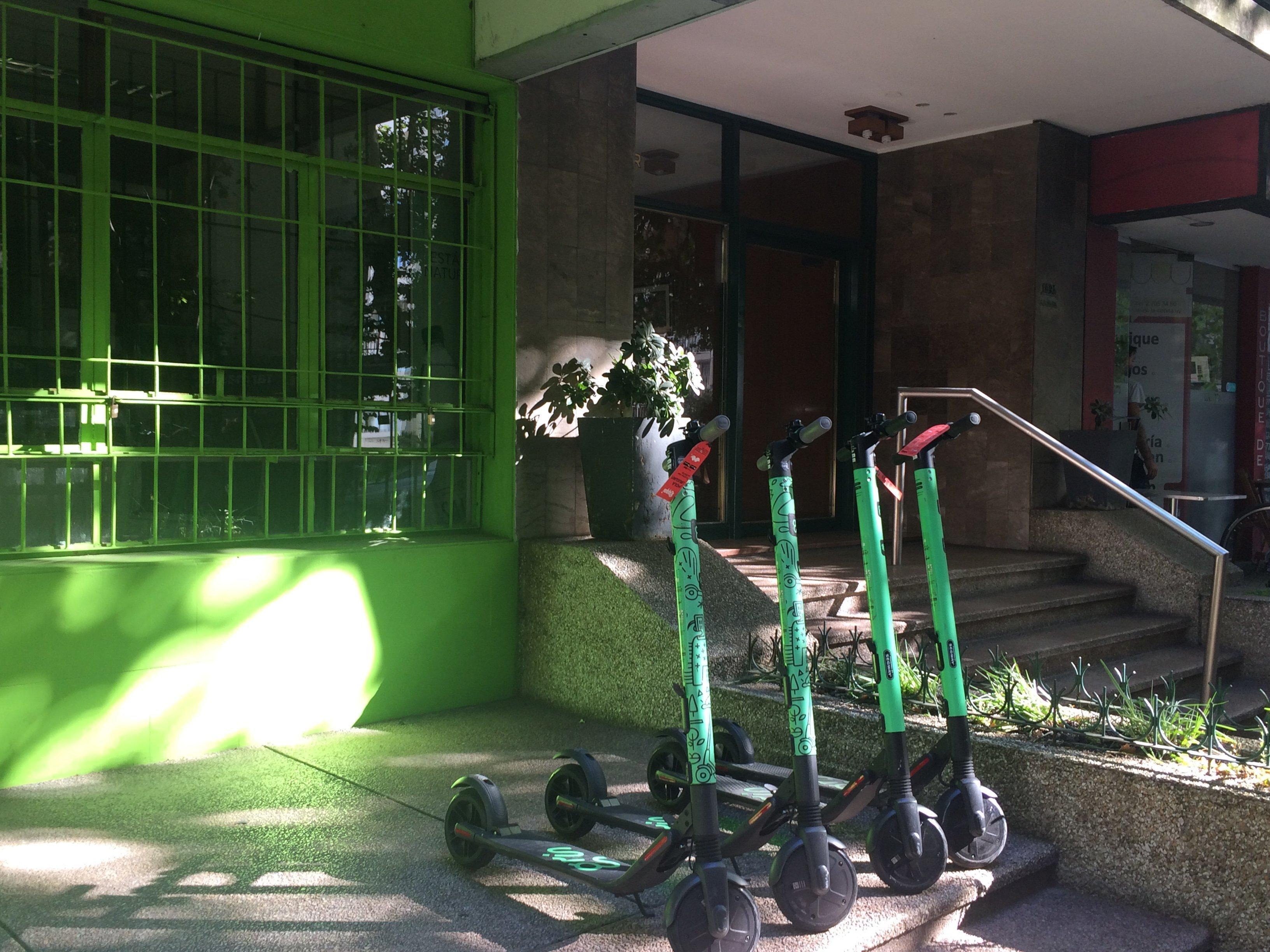 Monopatines eléctricos en Montevideo