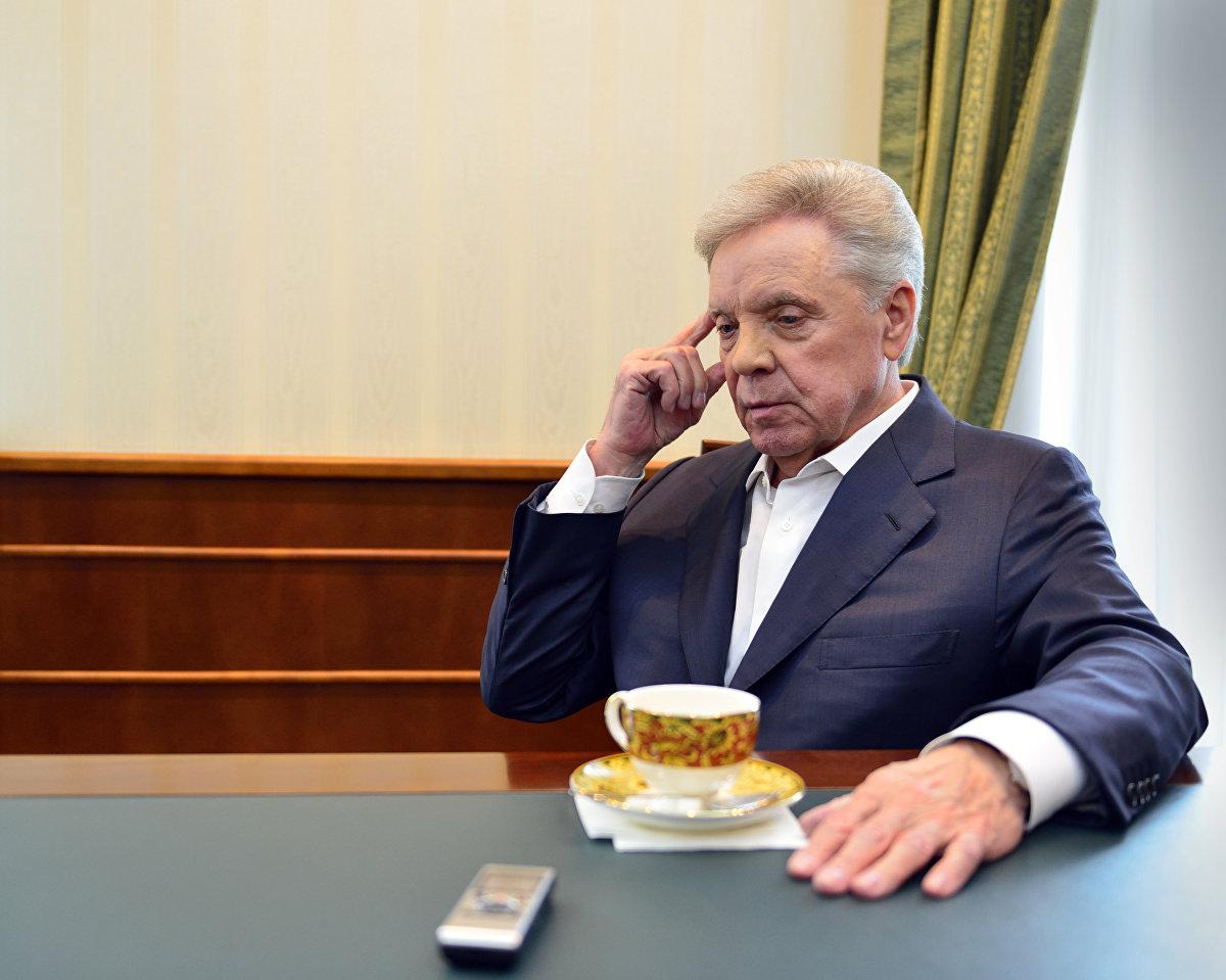 El coronel general y héroe de la URSS, Borís Grómov, durante la entrevista