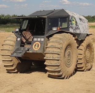 El vehículo todoterreno ruso Sherp (archivo)