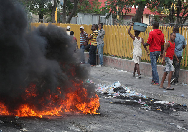 Protestas antigubernamentales en Haití