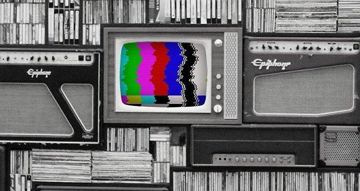 Una televisión de color (imagen referencial)