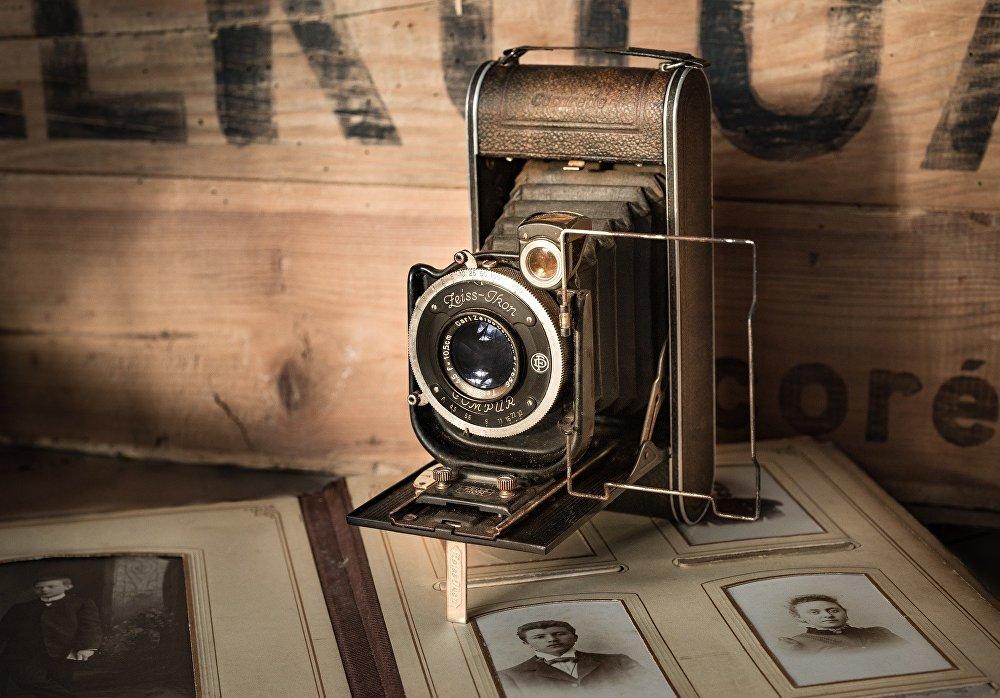 Una cámara fotográfica (imagen referencial)