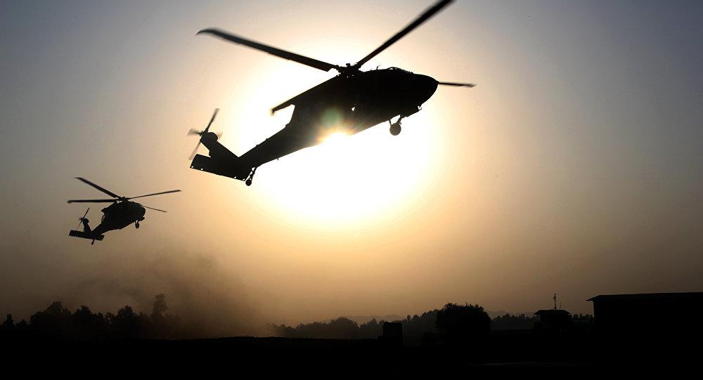 Unos helicópteros de EEUU