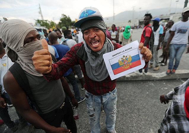 Manifestaciones en Haití