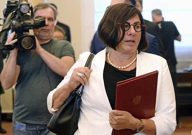 Anna Azari, embajadora de Israel en Polonia