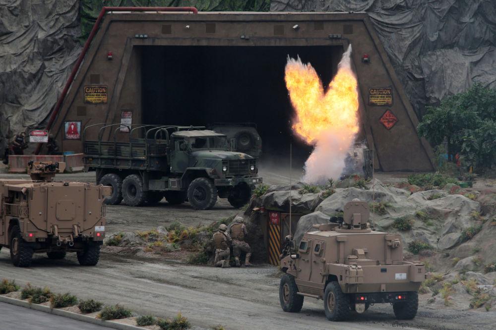 Arranca la feria internacional de defensa IDEX 2019 en Abu Dabi