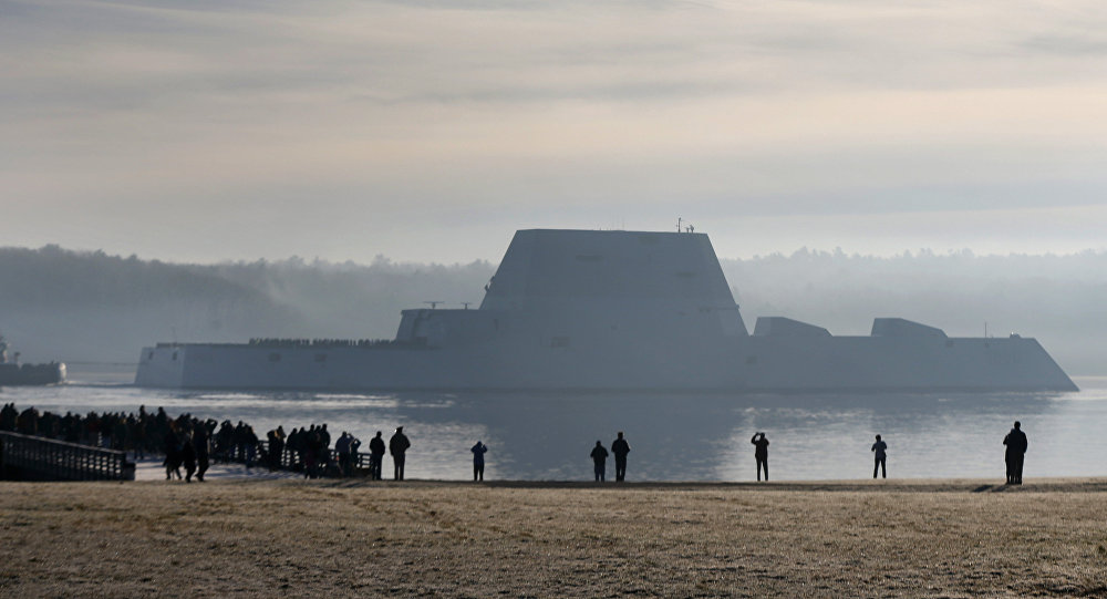USS Zumwalt, el destructor furtivo de la Armada de EEUU