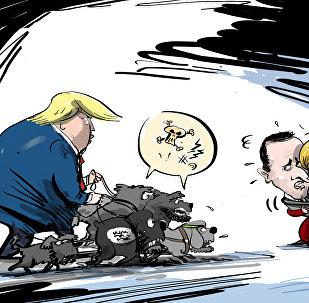 Trump amenaza a Europa con 'soltar a los perros' del ISIS