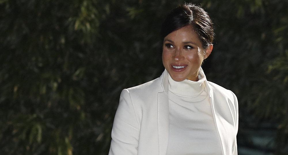 Meghan Markle, esposa del príncipe Harry