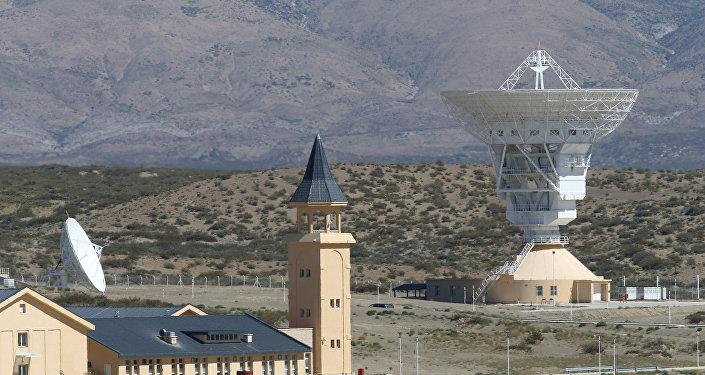 Las instalaciones de una estación espacial china en Las Lajas, Argentina