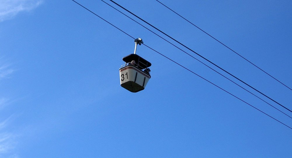 Una góndola del teleférico (imagen referencial)