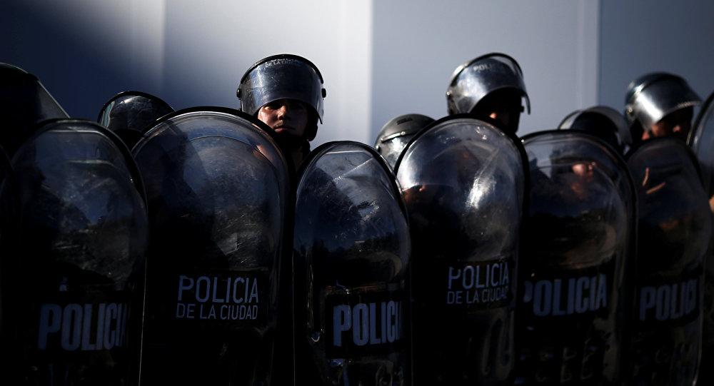 La Policía argentina