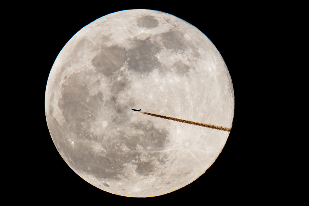 'Luna de nieve': así fue bautizada la primera superluna del 2019