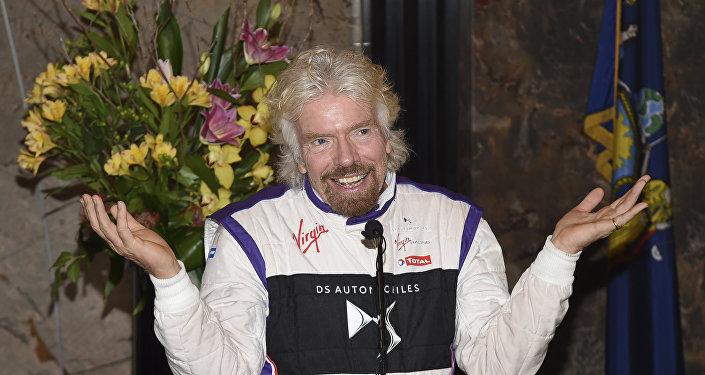 Richard Branson, el magnate inglés que financia el concierto en Cúcuta