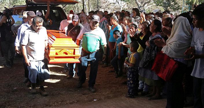 Funerales de Samir Flores Soberanes