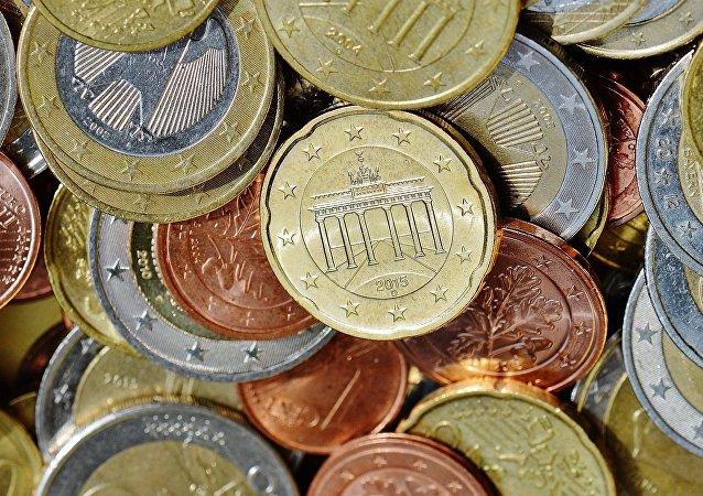 Monedas de euro alemanas