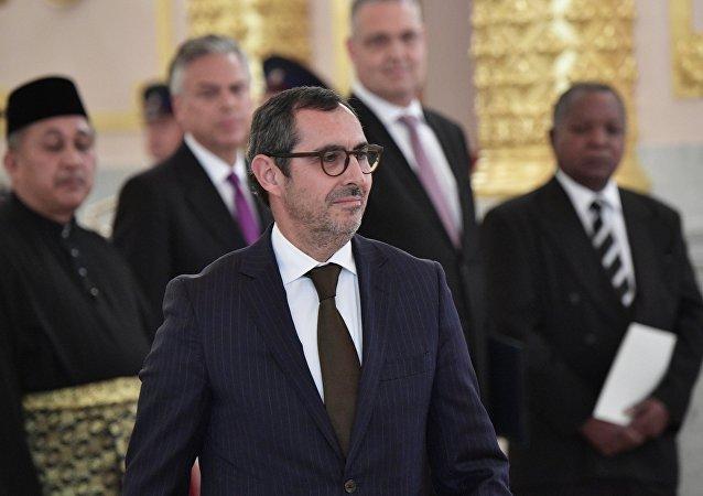 Paulo Vizeu Pinheiro, embajador de Portugal en Rusia (archivo)