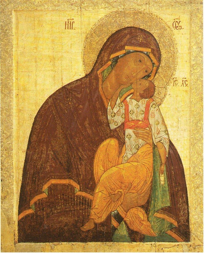 La Virgen Eleúsa, la primera mitad del siglo XV.