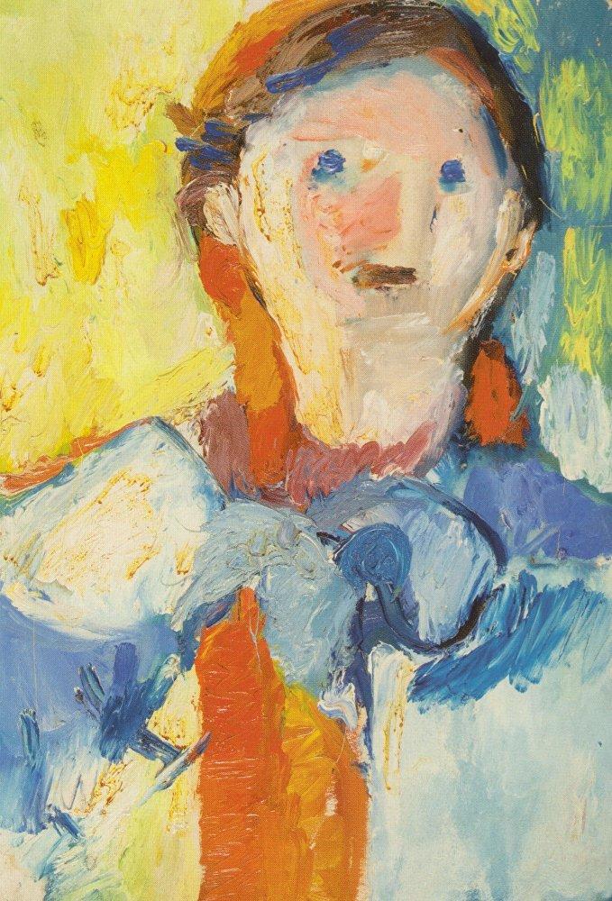 María Kazanskaia 'Autoretrato' 1937