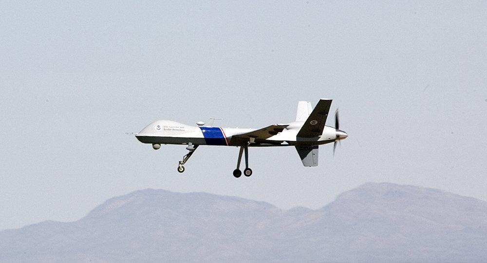 Un dron MQ-9 Reaper (archivo)