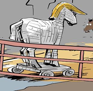 EEUU prepara un caballo de Troya para Rusia y China