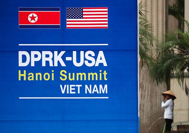 Preparativos para la cumbre Trump-Kim en Hanói, Vietnam