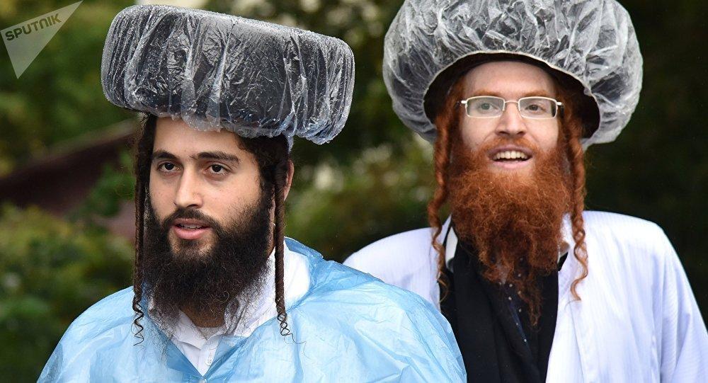 Judíos jasídicos (imagen referencial)
