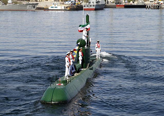 Submarino iraní de la clase Ghadir (archivo)