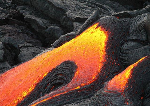 La lava, imagen referencial