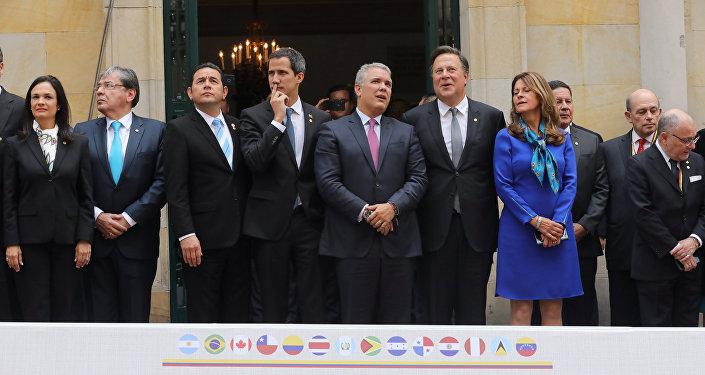 Reunión del Grupo de Lima en Bogotá