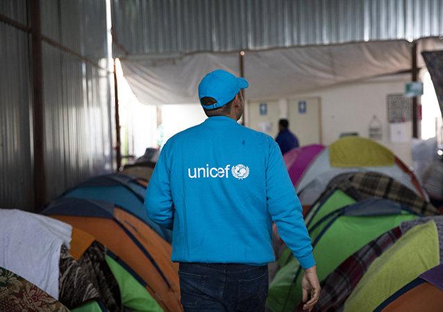Un representante de Unicef en México