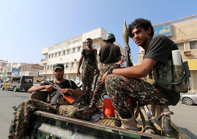 Hitíes en la ciudad de Al Hudaida en Yemen