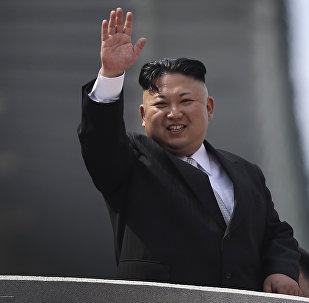 Kim Jong-un, el líder de Corea del Norte (archivo)