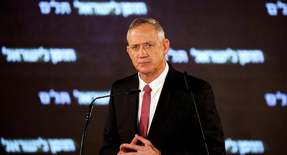 Benny Gantz, líder opositor israelí
