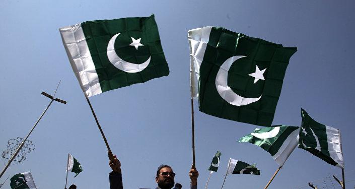 Las banderas de Pakistán
