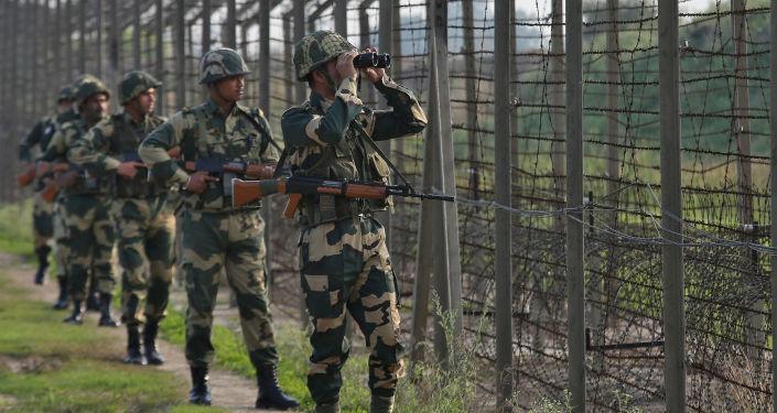 Guardia fronteriza india