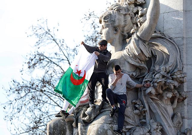 Protestas en Argelia contra el quinto mandato de Abdelaziz Buteflika