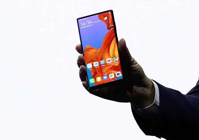 Un smartphone Huawei, imagen referencial