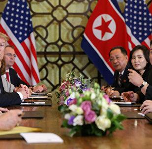 La cumbre entre el presidente de EEUU, Donald Trump, y el líder norcoreano, Kim Jong-un