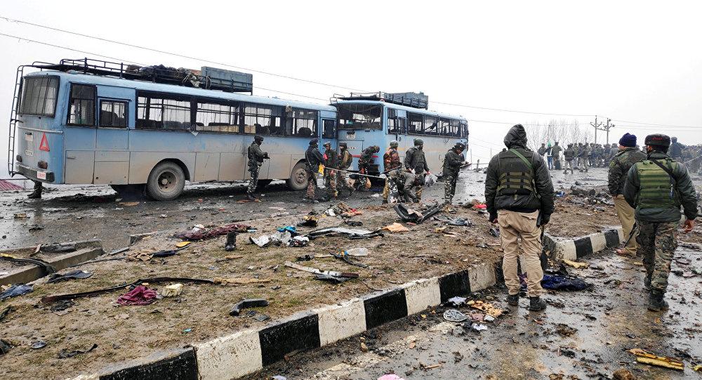Ligar del ataque con bomba en el estado indio de Jammu y Cachemira