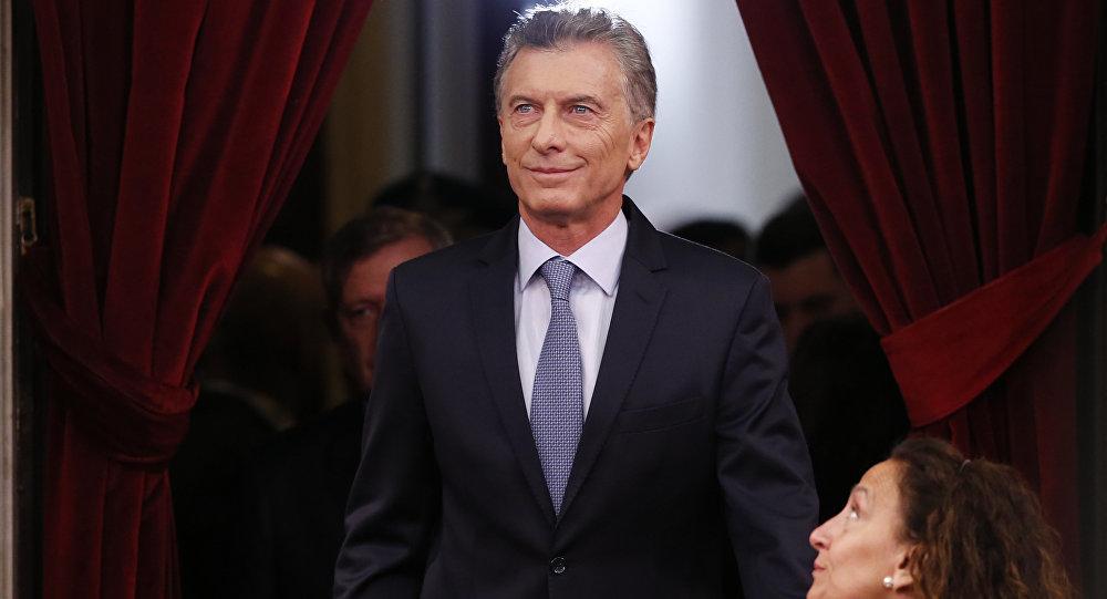 Mauricio Macri, presidente de Argentina durante la apertura del 137 período de sesiones ordinarias del Congreso