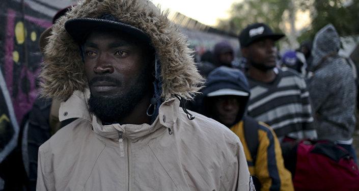 Inmigrantes haitianos en Chile