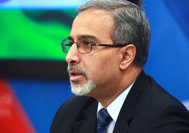 Bala Venkatesh Varma, embajador de la India en Moscú
