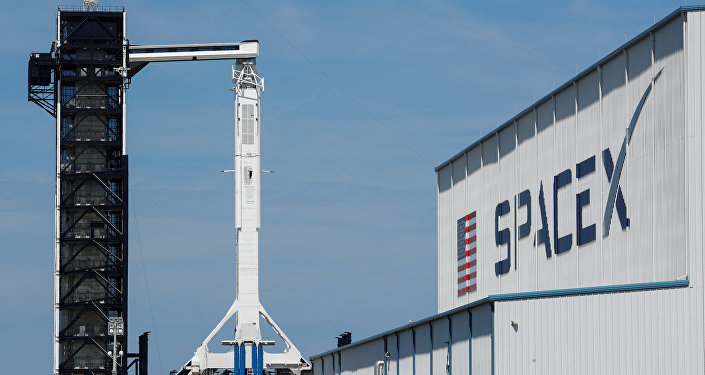 Lanzamiento de la nave espacial Dragon 2 (archivo)