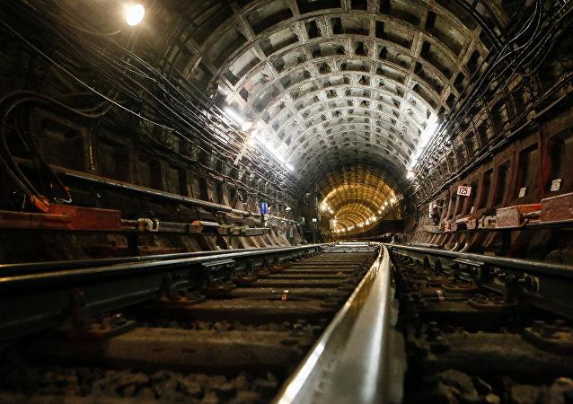Un túnel de metro