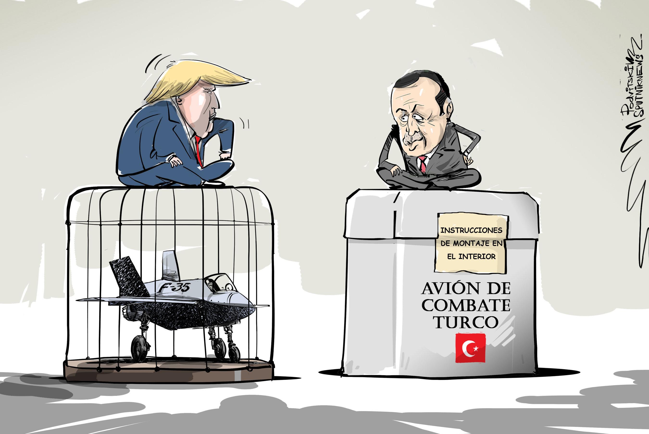 No hay F-35, no hay problemas para Turquía